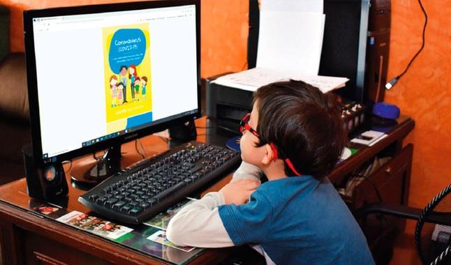 clases en línea primaria